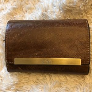 Patricia Nash Cametti Brown Leather Wallet